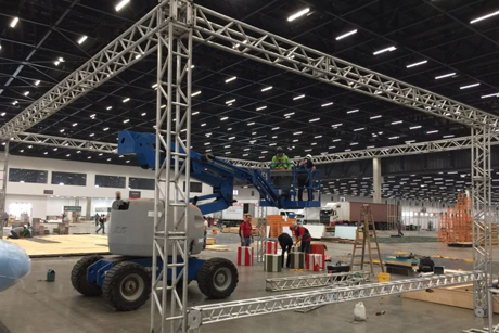 Estrutura de Box Truss Evento