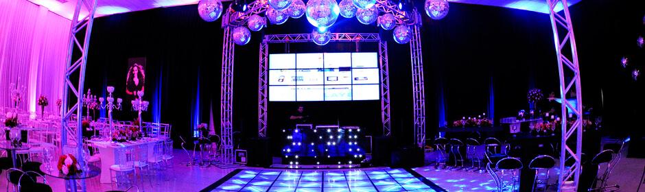 Pacote com DJ, Som e Estrutura
